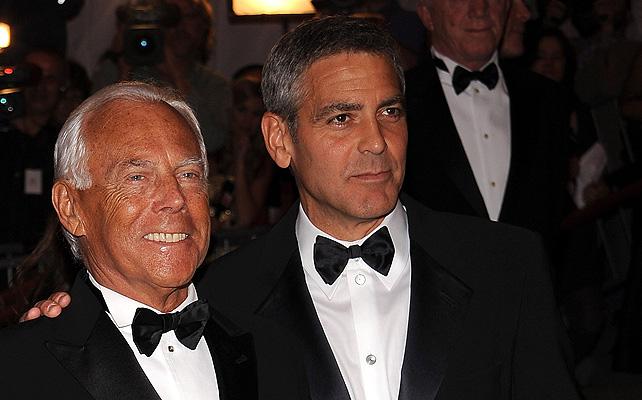George Clooney, boda, Giorgio Armani