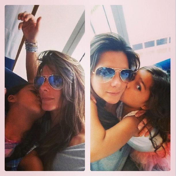 Bárbara Bermudo, Mia, Camila, bebes en instagram