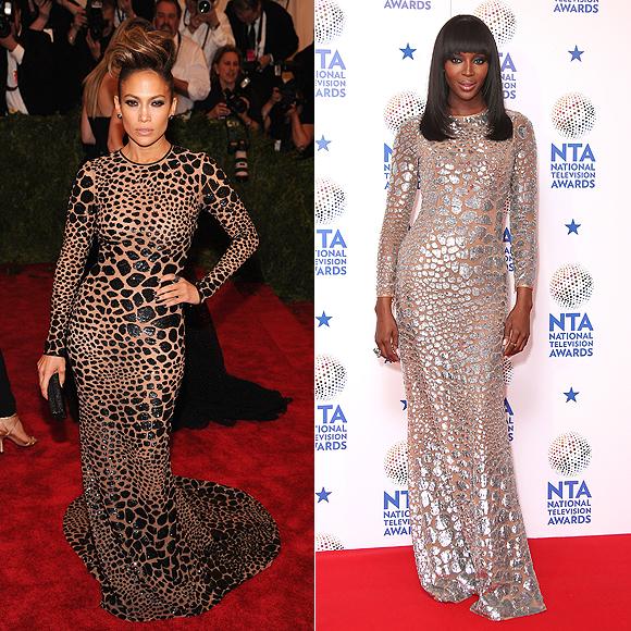 Jennifer Lopez, Naomi Campbell, Fashion Fac