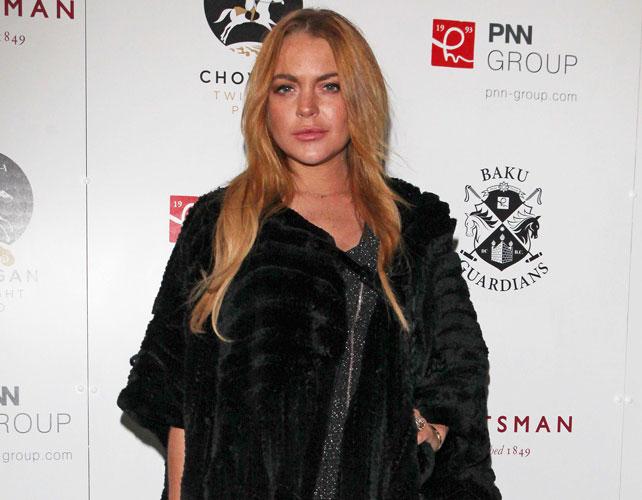 Lindsay Lohan para articulo