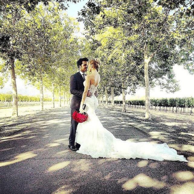 Luis Fonsi y Águeda López sorprenden con su boda