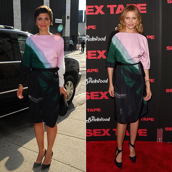 Maggie Gyllenhaal, Cameron Diaz, Fashion Faceoff