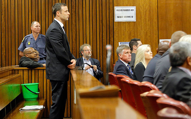 Oscar Pistorius, Thozike Masipa, Míralos