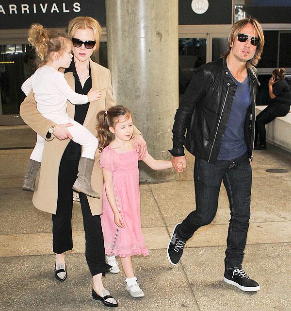 Nicole Kidman, Keith Urban, Sunday, Faith, Míralos