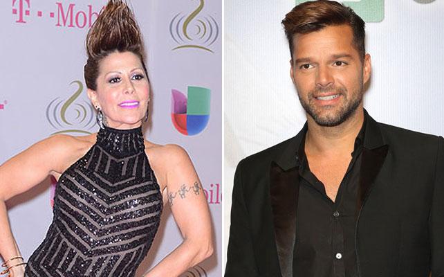 Ricky Martin y Alejandra Guzman para articulo