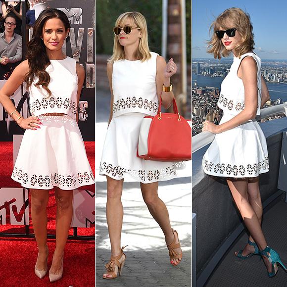 Dos mujeres un vestido, Rocsi Díaz, Resse Witherspoon, Taylor Swift