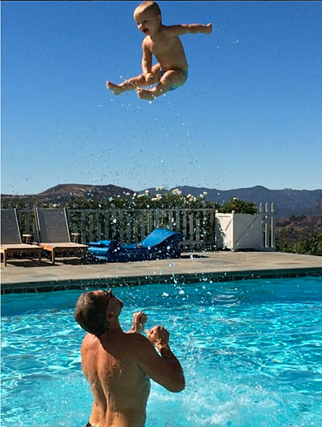 Jessica Simpson, bebés en instagram, Ace