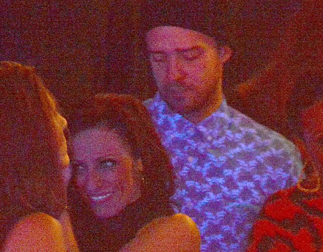 Justin Timberlake y amante para articulo