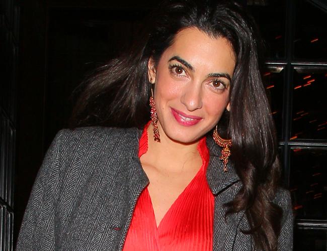 Amal Clooney para artículo