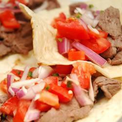 Tacos de sirloin