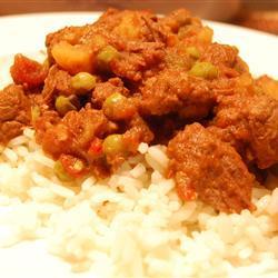 Carne en salsa de jitomate