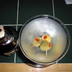 Martini de ginebra