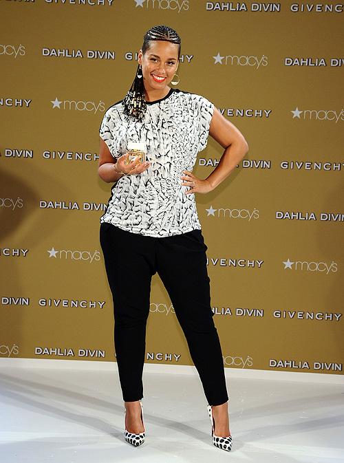 Alicia Keys, embarazadas con estilo