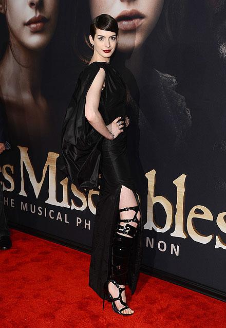 Anne Hathaway, el look del día