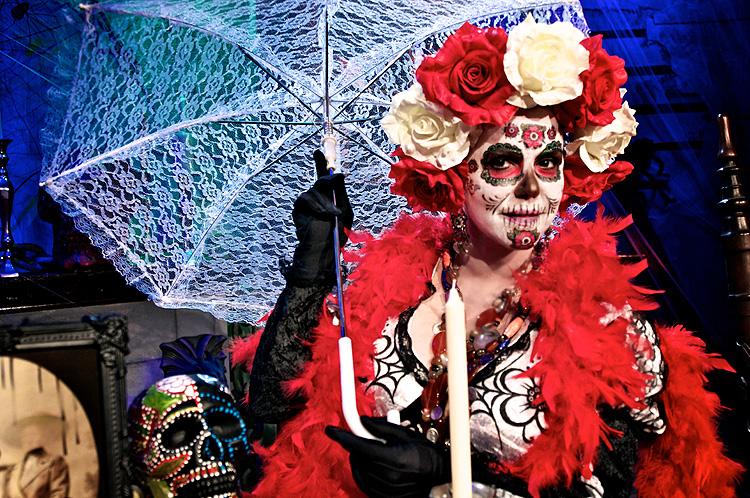María Celeste Arrarás, Halloween