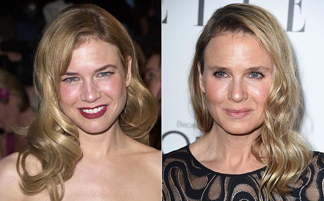 Renée Zellweger, maquillaje, natural, cirugía