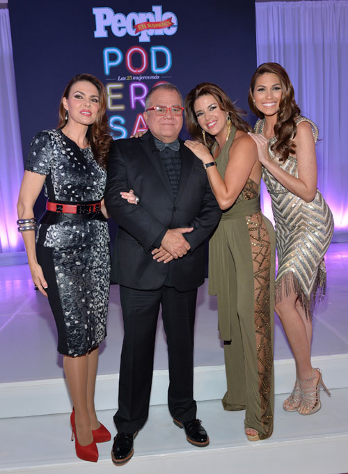 Bárbara Palacios, Armando Correa, Alicia Machado, Gabriela Isler, Poderosas