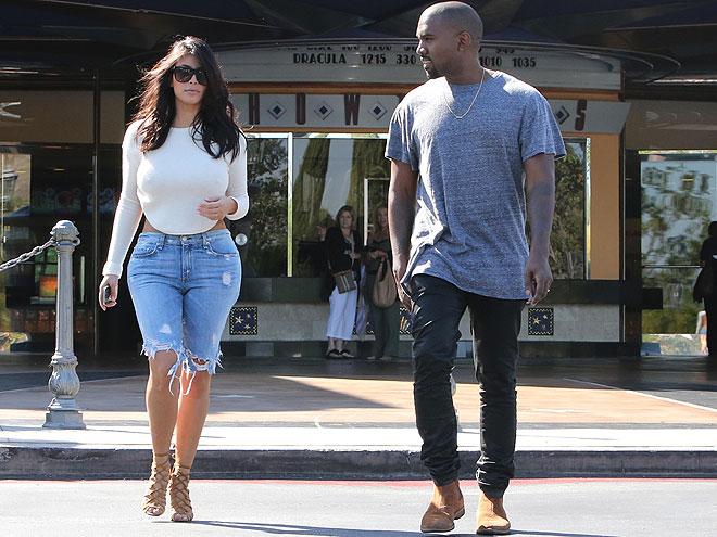 Kim Kardashian, Kanye West, Míralos