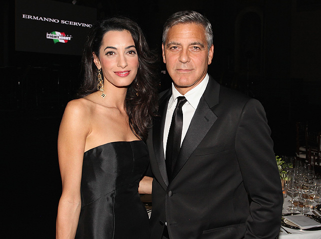 George Clooney, boda, Giorgio Armani, amal alamuddin
