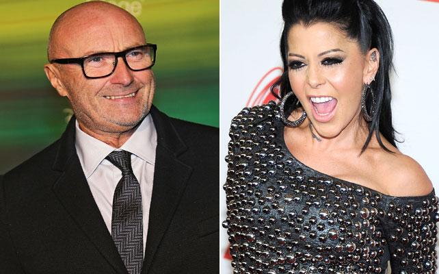 Alejandra Guzman y Phil Collins para articulo