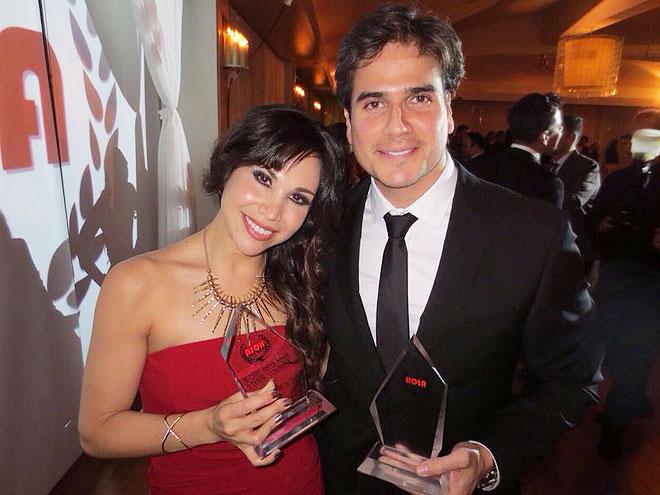 Bianca Marroquín, Daniel Arenas, Míralos