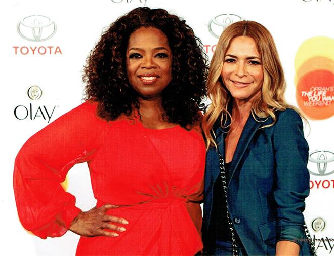 Irma Martínez y Oprah Winfrey