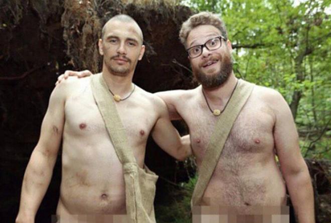 James Franco y Seth Rogen