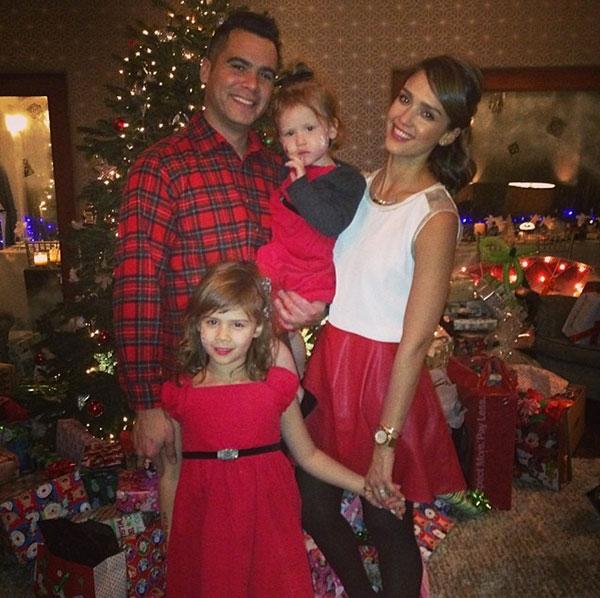 Jessica Alba, Navidad