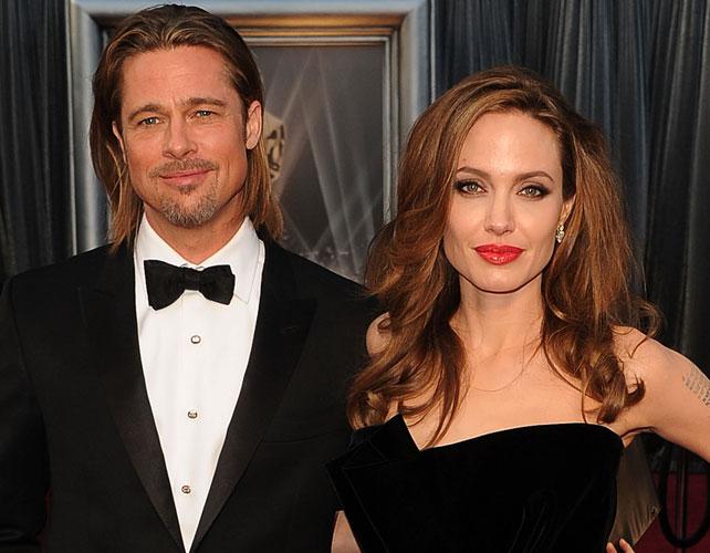 Angelina Jolie y Brad Pitt para articulo