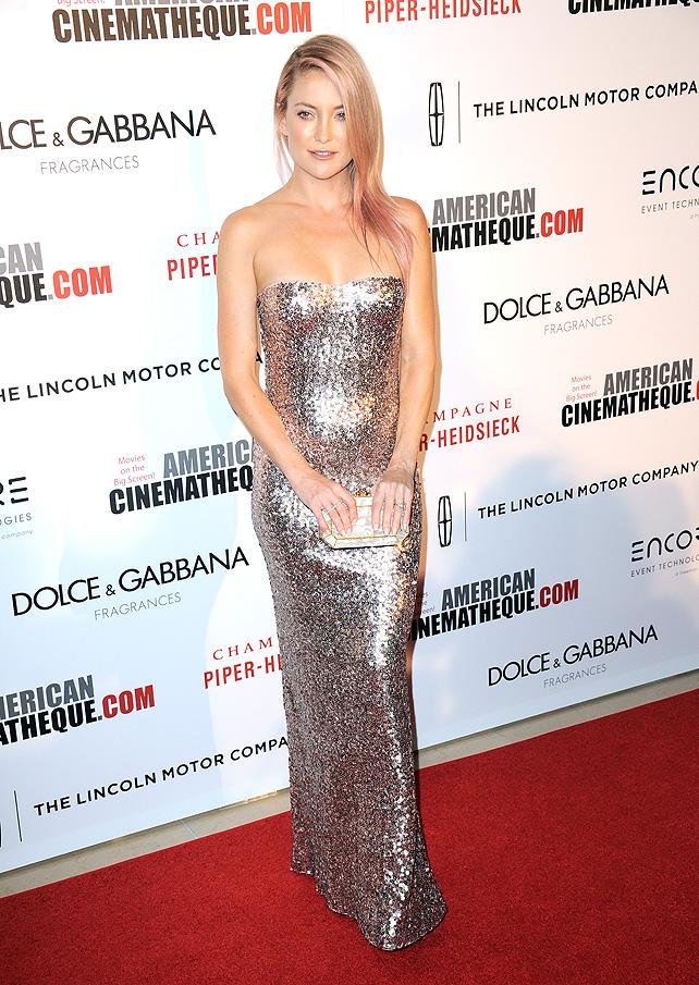 Kate Hudson, pink, cancer, tint, cabello