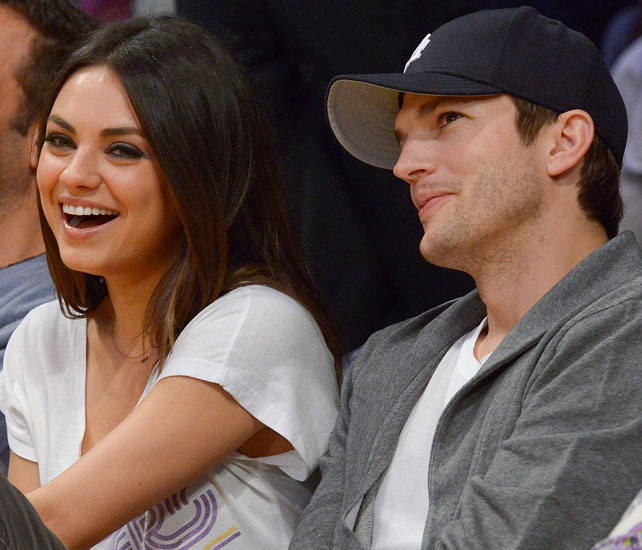 Mila Kunis y Ashton Kutcher para articulo
