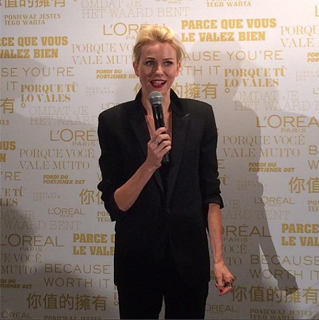Naomi Watts, l'Oreal paris