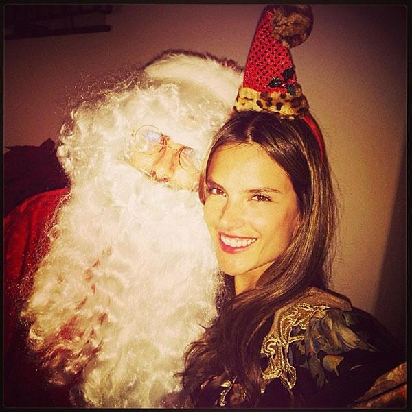 Alessandra Ambrosio, Navidad