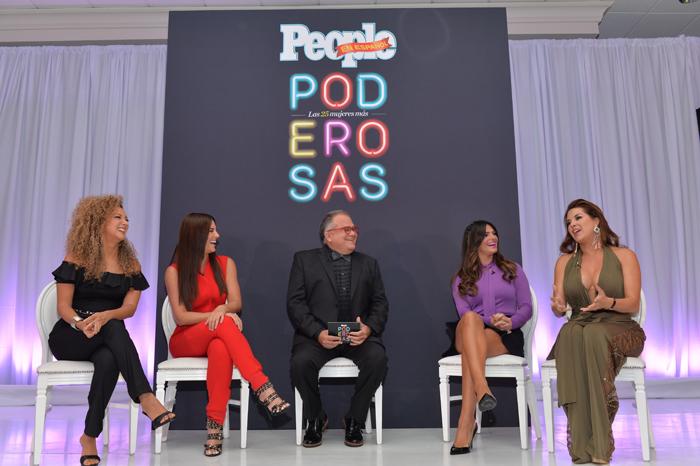 Erika Ender, Gaby Espino, Armando Correa, Bárbara Bermudo, Alicia Machado, Poderosas