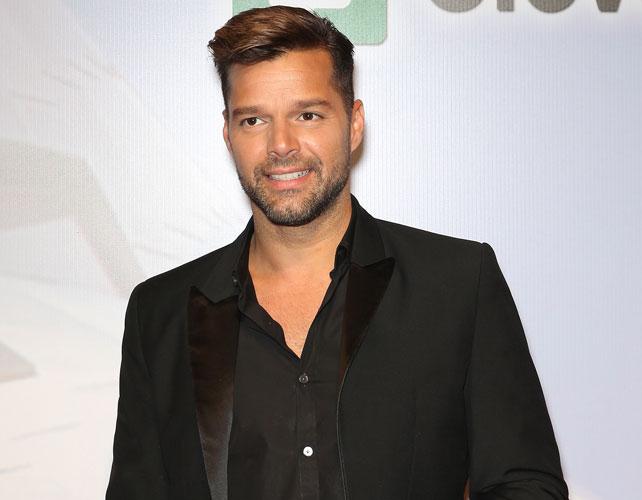 Ricky Martin para articulo de escuela en PR