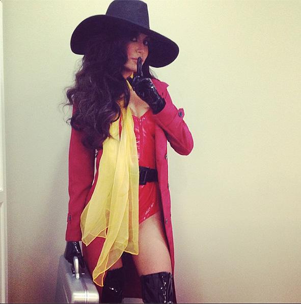 Naya Rivera, Halloween