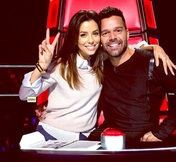 EVA LONGORIA, Ricky Martin