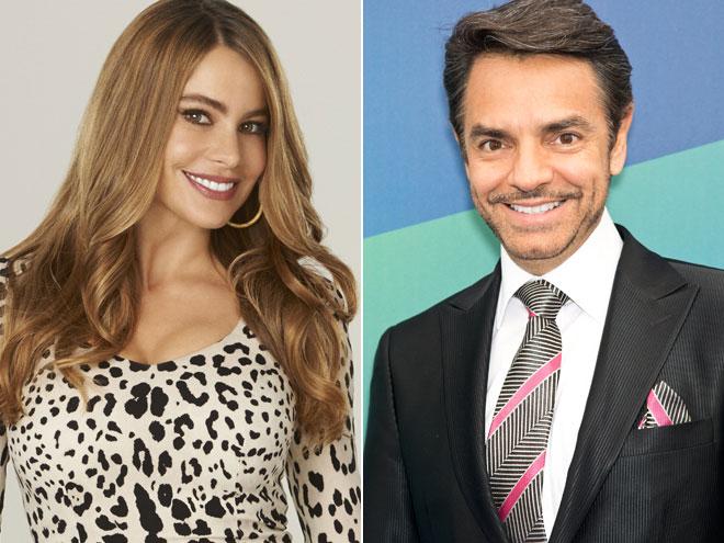 Sofía Vergara y Eugenio Derbez