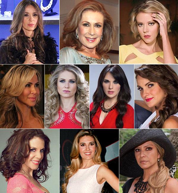 Estrellas del año, telenovelas, Villana