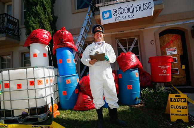 James Haulk/ébola house para artículo