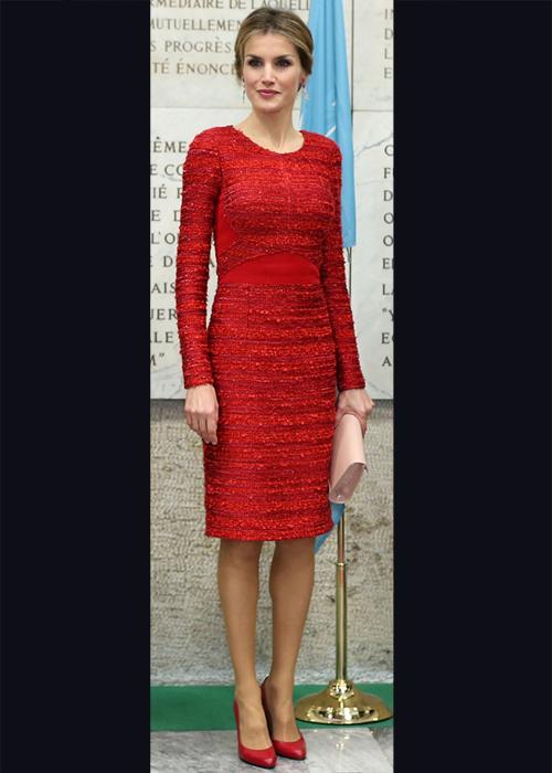 Princesa Letizia, el look del día