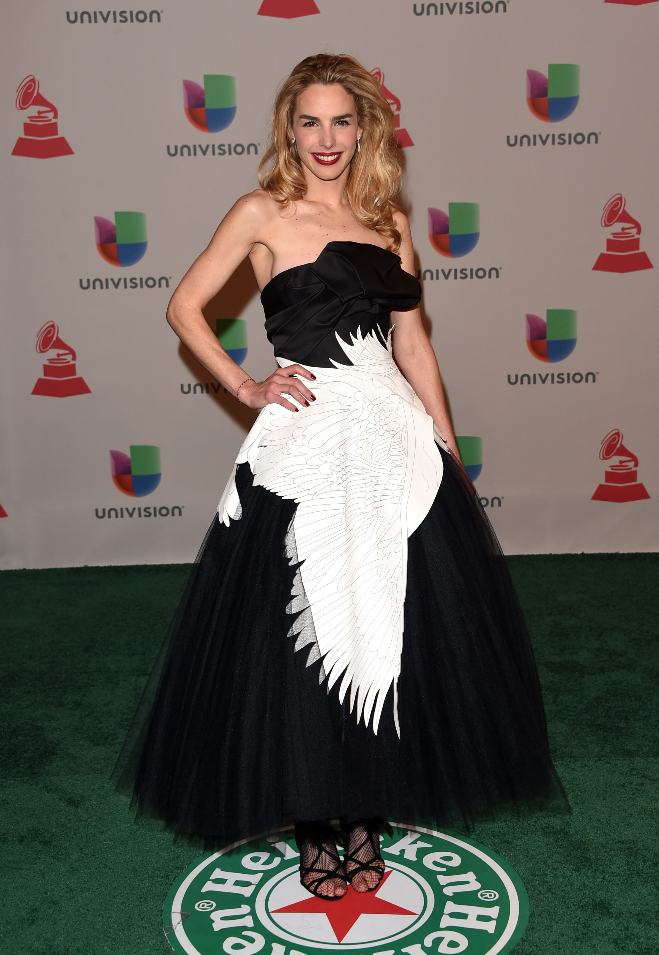 Eglantina Zingg, Latin Grammy 2014 ellas en la alfombra