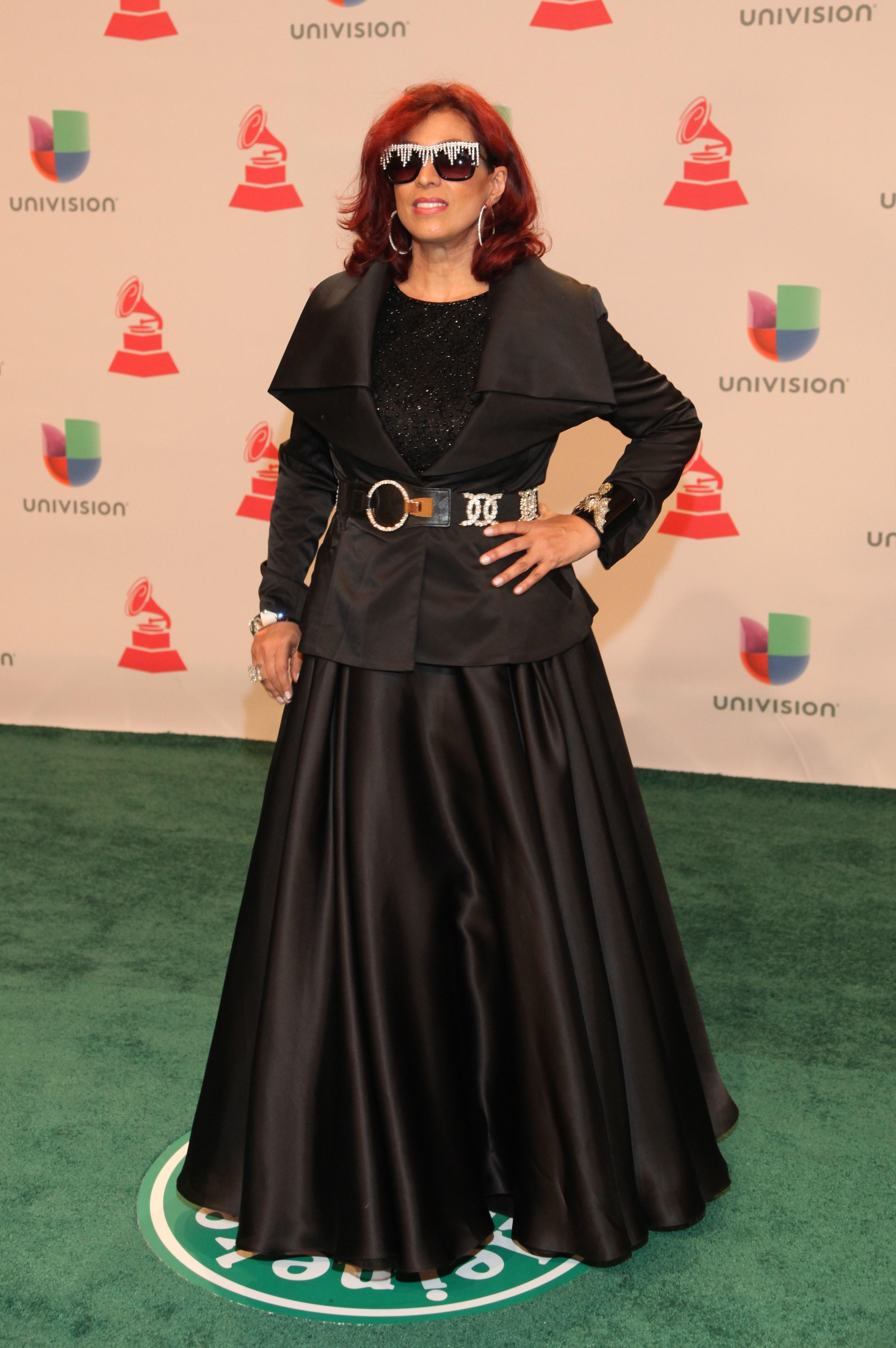 Stebani Cruz, Latin Grammy 2014 ellas en la alfombra