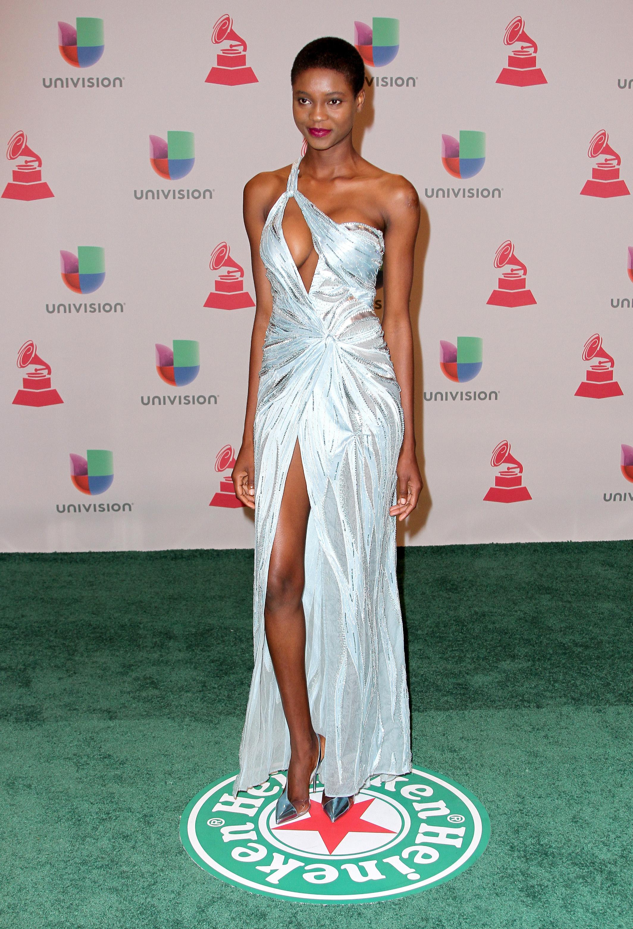 Mauza Antonio, Latin Grammy 2014 ellas en la alfombra