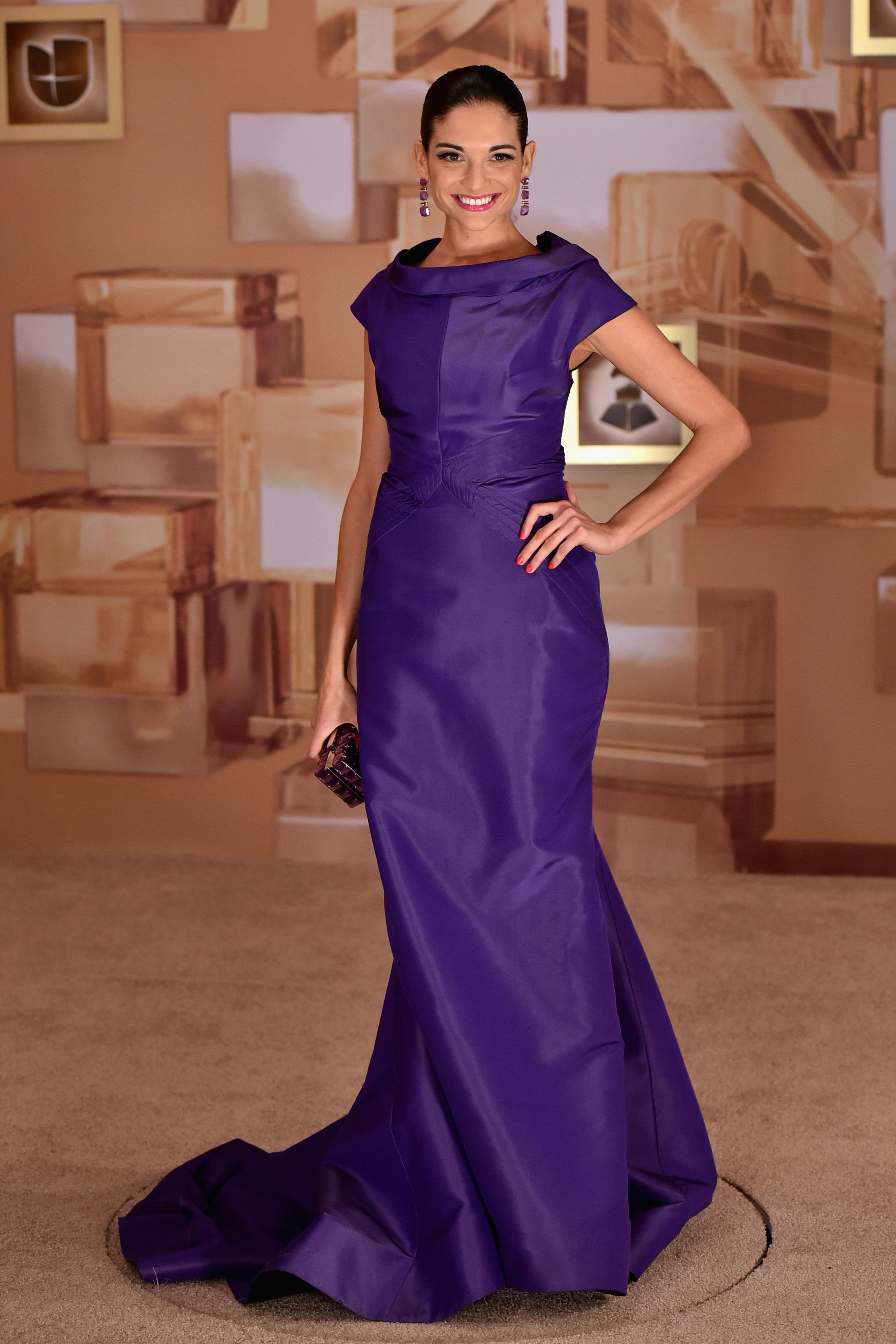 NATALIA JIMÉNEZ, Latin Grammy 2014 ellas en la alfombra