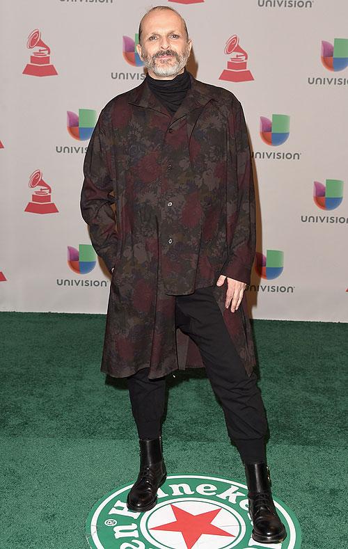Miguel Bosé, Latin Grammy 2014