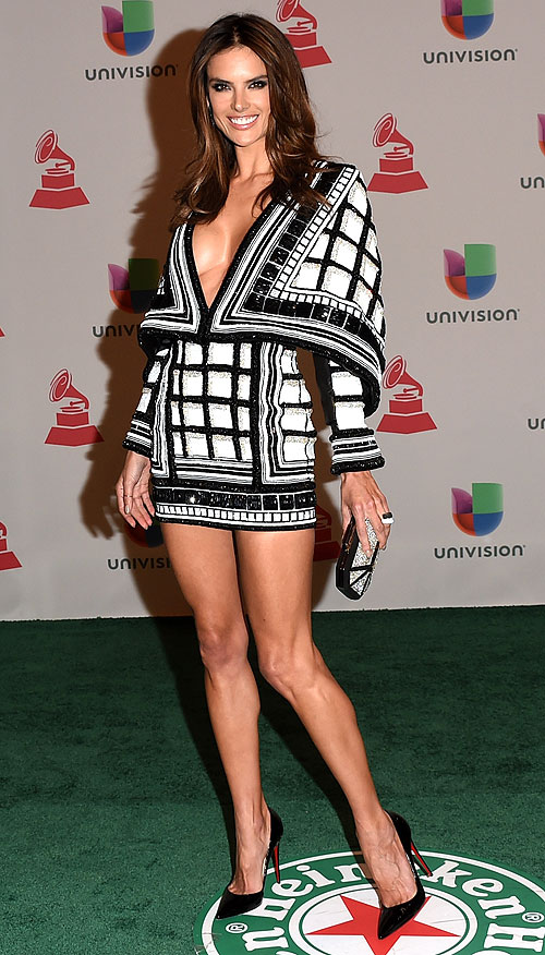 Alessandra Ambrosio, Latin Grammy 2014