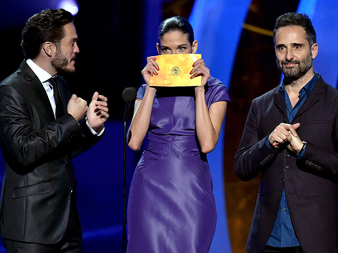Kuno Becker, Natalia Jiménez, Jorge Drexler, Latin Grammy 2014