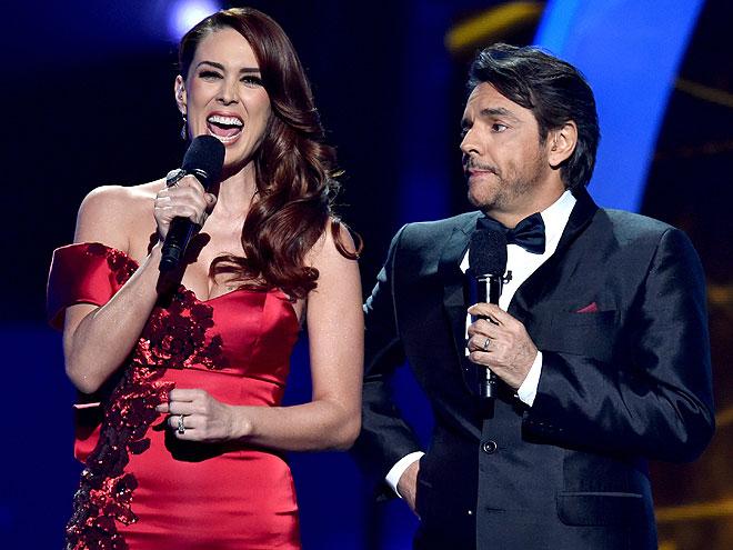 Jacqueline Bracamontes, Eugenio Derbez, Latin Grammy 2014