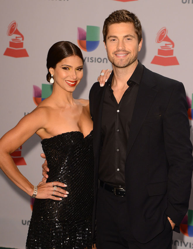 Roselyn Sánchez y Eric Winter